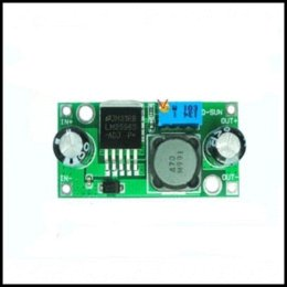 Wholesale Adjustable Step Down Module - Free shipping 100pcs lot LM2596 LM2596S DC-DC adjustable step-down power Supply module NEW ,High Quality(Green) module design