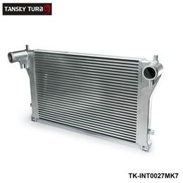 Wholesale Vw Golf Intercooler - TANSKY - Aluminum Bolt On Intercooler Kit For Audi A3 S3 For VW Golf R MK7 EA888 1.8T 2.0T TSI TK-INT0027MK7