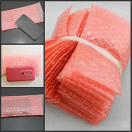 Wholesale Case Envelope Phone - 9CM*18cm Bubble Envelopes Wrap Bags Pouches packaging PE Mailer Packing for Cell Phone Parts Phone Accessories Cell Phone Cases LCD Touch