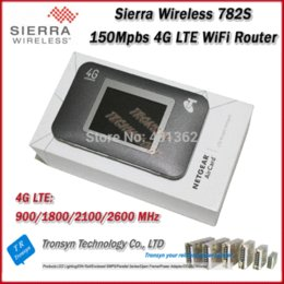 Wholesale Aircard Unlocked - 2015 New Original Unlock LTE FDD 150Mbps Sierra Wireless Aircard 782S 4G LTE Mobile WiFi Hotspot And 4G LTE WiFi Router