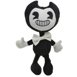"Wholesale Movies Plush - Hot New 12"" 30CM Bendy and the Ink Machine Plush Doll Soft Anime Collectible Kid's Dolls Best Gifts Stuffed Toys"