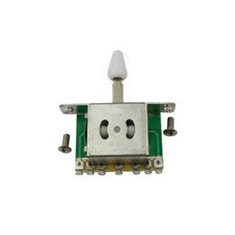 Wholesale Guitar Gears - The guitar five gears switch fender ST, SQ, five section of the switch Pickup switch gear