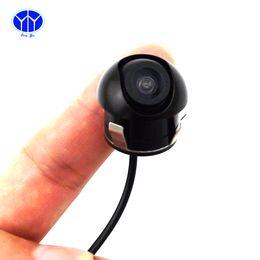 Wholesale Reversing Camera Cables - Universal Reversing Car Rear View HD Camera Wide Angle 5m RCA AV Cable Waterproof Night Vision Camera
