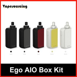 Wholesale Wholesale Prices Joyetech - Authentic Joyetech Ego Aio Box starter kits 2100mah with 2ml atomizer all in one style factory Price