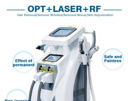 Wholesale Tattoo Removal Light Machine - 4in1 OPT + E-LIGHT IPL + RF skin care hair removal machine IPL hair removal equipment
