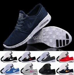 Wholesale Max Sneakers For Men - 2016 New SB Stefan Janoski Max Shoes Running Shoes For Women Men ,High Quality Athletic Sport Trainers Sneakers Shoe Maxes Size Eur 36-45