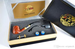 Wholesale 618 Electronic Smoking Pipe - E-pipe 618 Health Smoking Pipe Electronic Cigarette E Pipe 618 2.5ml Atomizer With 18350 Battery Valued Retail Gift Box pipes mod