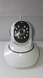 2019 cámaras de control de sonido Cámara IP caliente de la venta 1.0MP 720P PanTilt P2P Wifi cámara de seguridad inalámbrica con cámaras IP de visión nocturna