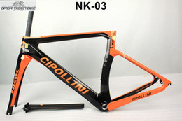 Wholesale Carbon Road Bike 51cm - large load carbon road fiber T1000 bike frame 22 speed groupset nk1k