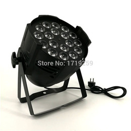Wholesale Uv Spotlight - Aluminum alloy LED Par 18x18W RGBWA+UV 6in1 LED Par Can Par led spotlight dj projector wash lighting stage lighting