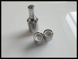 Wholesale Metal Orbs - triple wax vaporizer quartz coil heating element metal tank replacement coil head D CORE V3 vaporizer orb source vape pen e cigarette plus