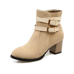 Wholesale B Production - European and American sexy female Martin boots, quality production, free postage, large size 34-43