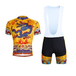Wholesale Robe Pants - New Arrival PALADIN Imperial Robe Summer Cycling Jersey Sets Quick Dry Bike Bicycle Jersey Bib And Non-bib Pants Pro Cycling Clothing