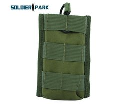 Wholesale Wholesales Magazine Bag - Wholesale-Outdoor Top Open Single M4 M16 Magazine Pouch Molle Utility Airsoft Paintball Hunting Military Adjustable Nylon Waterproof Bag