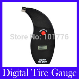 Wholesale Car Digital Tire Gauge Meter - Wholesale-Free Shipping Digital Tire Gauges Car Pressure Meter Test Tyre Testers Vehicle Motorcycle VT801 with retail packing,MOQ=1