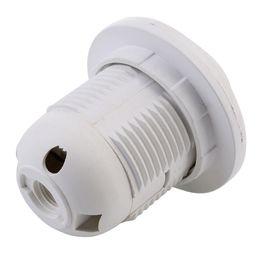 Douille d'ampoules en plastique en Ligne-Adaptateur de support de douille en plastique E27 à vis pour lampe ampoule LED 100pcs