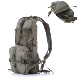 Wholesale Army Acu Bags - Can Print Your Logo 2.5L Sports Army ACU Water Bag Hydration Pack Bladder Hydration System Camping Water Bag Backpack