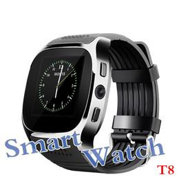 2019 новые умные часы sim Новое обновление T8 Bluetooth Smart Watch с камерой Facebook Whatsapp поддержка SIM-карты TF LBS местонахождение FM-радио спортивные наручные часы для Android скидка новые умные часы sim