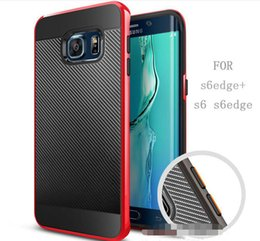 Wholesale Slim Armor Iphone 4s - SGP Carbon Twill Bumblebee Hybrid Slim Armor Neo Case back Cover For iPhone 4 4s 5 5s 5c 6 6s 7 plus Samsung Galaxy Grand Prime G530 E5 E7