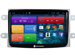 Wholesale 16gb Mp3 Mp4 Touch Screen - 9'' Quad Core Android 4.4 Car DVD Player for Renault Duster Logan Sandero With Mirror Link 16GB Flash Stereo GPS