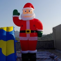 outdoor christmas decoration inflatable nz outdoor decoration 5m giant christmas inflatable santa wiith air blower