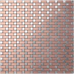 Wholesale Wall Sticker Wholesale China - Mix colour Self-Adhesive Aluminium Plastic Panel tiles, China home wall decor waterproof Metal mosaic tiles sticker,12x12 mosaic tiles,LSE02
