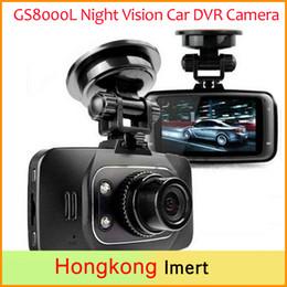 Wholesale vision dvd - car dvd Novatek 96220 Car DVR Camera GS8000L Full HD 1080p Dash Cam Video Recorder + G-sensor + Night Vision + Cycle Recording