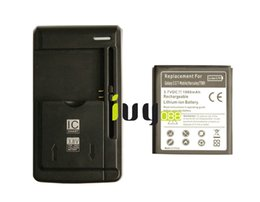 Wholesale Hercules Battery - 1980mAh EB-L1D7IBA U Replacement Battery + Charger For Samsung Galaxy SII T-mobile Hercules T989 i515 i717 E110S E120L S K i727 i547 L700