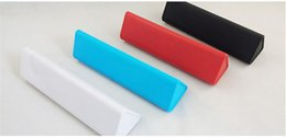 Wholesale Fastest Audio Player - 2016 KDATA Bluetooth Speakers Fast Charging With Lasting Battery Life Triangle Sucker Bluetooth CSR4.1 Speaker High Quality