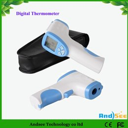 Wholesale Thermometers For Children - Non-contact LCD Digital Body Surface Forehead Infrared Thermometer Temperature Gun For Baby KA-2H01