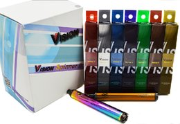 Wholesale Clearomizer Voltage Adjustable Battery - Top quality Vision Spinner 2 1650mAh Ego twist 3.3-4.8V vision spinner II variable voltage battery for Electronic cigarette Clearomizer DHL