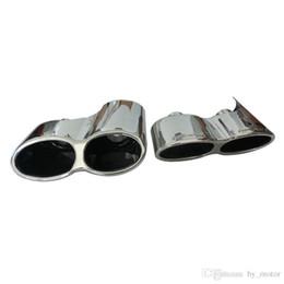 enfriamiento del tubo de calor Rebajas W221 S550 S63 S65 05-12 AM-G Tubo de escape Muffler Tips Tip 1pair para Mercedes Benz