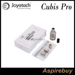 Wholesale New Innovative - Joyetech CUBIS Pro Atomizer Cubis Pro Tank 4ML with New QCS & LVC Head Innovative Cup Design for eVic VTwo Mod Mini Mod 100% Authentic