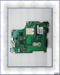 Satélite placas-mãe laptop on-line-Original Para Toshiba Satellite Satellite C640D C645D laptop DDR3 motherboard integrado V000238020 6050A2357601-MB-A01