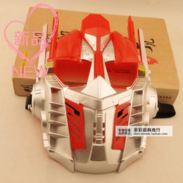 Wholesale Optimus Prime Face Mask - 2015 Special Offer Masks Airsoft Mask New Transformers Bumblebee Optimus Prime Colorful Royal Predators Cartoon Theme Props