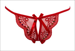 Brinquedos sexuais high end on-line-Calças exóticas luxo high-end Sexy Briefs brinquedos sexuais transparentes g corda calcinha das mulheres ver através de tanga calcinha frete grátis