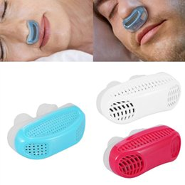 Wholesale Cooling Devices - 2017 Silicone Anti Snore Nasal Dilators Apnea Aid Device Stop Snoring Nose Clip cool