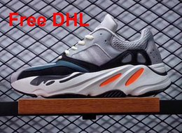 Wholesale Dhl Men Shoes - DHL Free High Qaulity Runner 700 Boost Kanye west men's women's casual shoes Sneakers Running Sports shoes for men