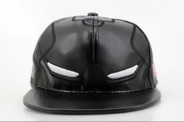 Wholesale Snapbacks Dc - 2016 DC Comics Snapbacks Hat Marvel Comics Snapbacks Caps Cartoon Leather Hats Cap Adjustable Sun hat