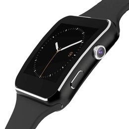 Wholesale Curve Display - X6 Smart Watch Android Smartwatch HD Curved Display Sync Facebook Whatsapp Message Support SIM TF Smart Watch
