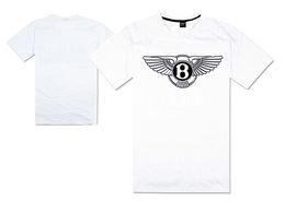 Wholesale Green Luxury Cars - luxury car logo Bentley motors t shirt B winged hip hop tshirts hip hop t-shirt supercar continental gt