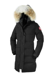 Wholesale Women S Winter Hat Black - 2017 Canada new Arrival women's Down parka Shelburne Black Navy Gray jacket Winter Coat Parka Fur Sale With Free Shipping Outlet Copy 1by1