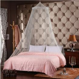 Atacado 5 pcs Quente Em Todo O Mundo Elegante Rodada Lace Insect Bed Canopy Rede Cortina Dome Mosquito Net de