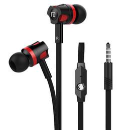 orelha telefone mic dhl Desconto Mais novo Original Marca Earbuds JM26 Fone De Ouvido, Noise Isolando em fones de ouvido, noodle Headsets com Microfone para o Telefone Móvel Universal DHL Livre