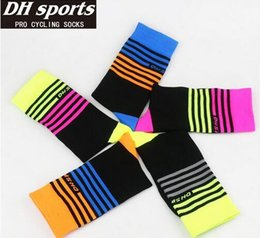 Wholesale Wicking Running Socks - DH SPORTS Top Quality Professional brand Cycling sport socks Protect feet breathable wicking cycling socks Bicycles Socks