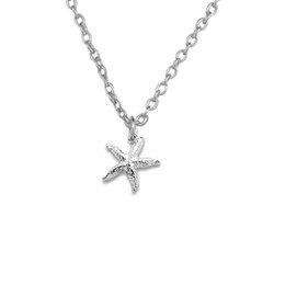 Wholesale Charm Jewish - 2017 new trend necklace 30pcs Zinc Alloy 18k Gold or Rhorium Plated Jewish starfish Pendants Religious Necklaces Good Luck