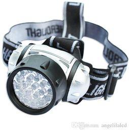 Wholesale Spotlight Flashlight Light Lamp - LED Head Flashlight Head Lamp Head Flash Light Camping Headlight Lighting Torch Spotlight For Hunting For AAA