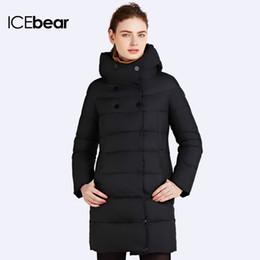 Wholesale Womens Hot Thicken - ICEbear 2016 Hot Sale Winter Womens Bio Down Thickening Jacket And Coat For Women High Quality Parka Five Colors 16G6128D