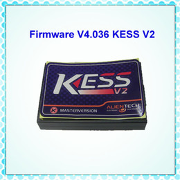 Wholesale Unlimited Free - Fast & Free Shipping Kess ECU Turning Tool KESS V2 V2.13 Firmware v4.036 with Reseter Unlimited Tokens 1 Year Warranty
