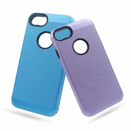 Wholesale Cover For Alcatel - Fashion Dual Layer Woven Case Hybrid Anti-slip Cover For iphone X 8 7 6s plus Samsung note8 S9 plus Alcatel Idol5 ZTE Zmax pro OppBag